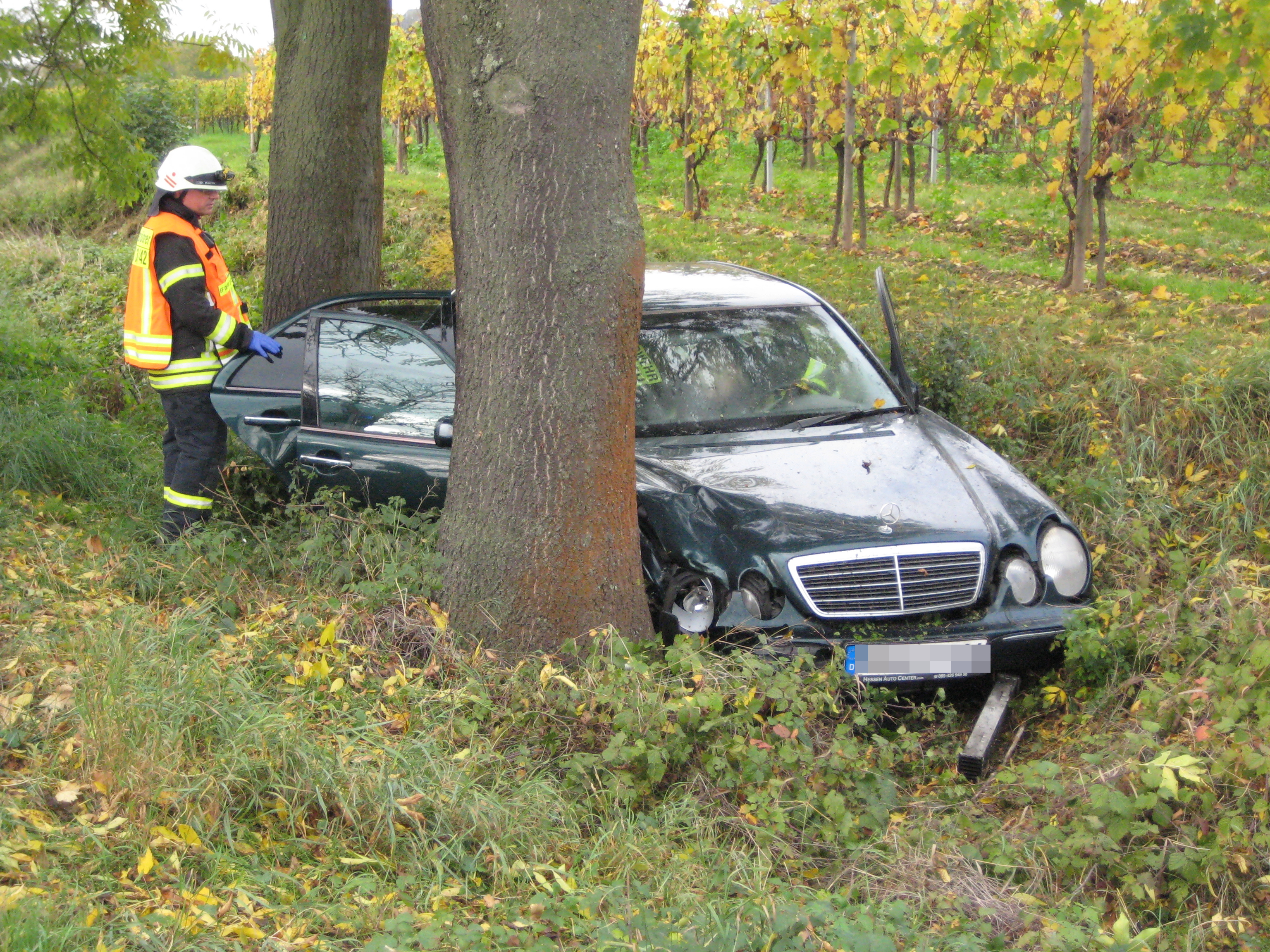 Vekehrsunfall Oestrich